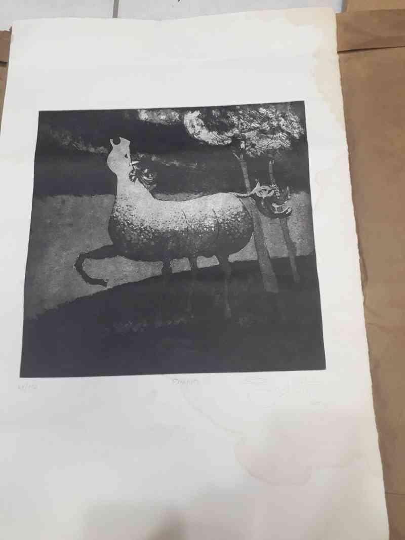Leilão de obras de arte beneficia Brick Animal Miautlet