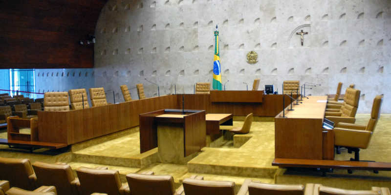 Plenário do STF (Supremo Tribunal Federal), Brasília - DF.