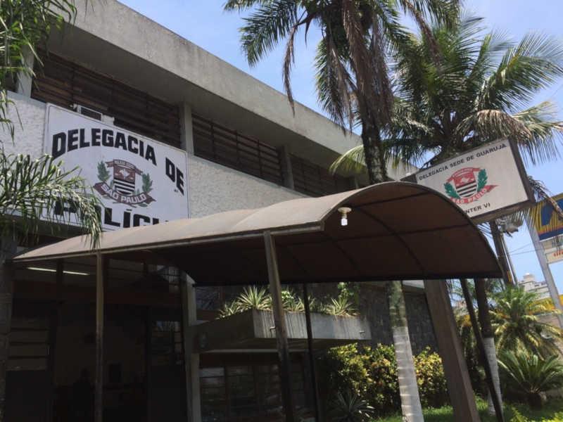 Caso foi encaminhado para a Delegacia Sede de Guarujá — Foto: Guilherme Lúcio / G1