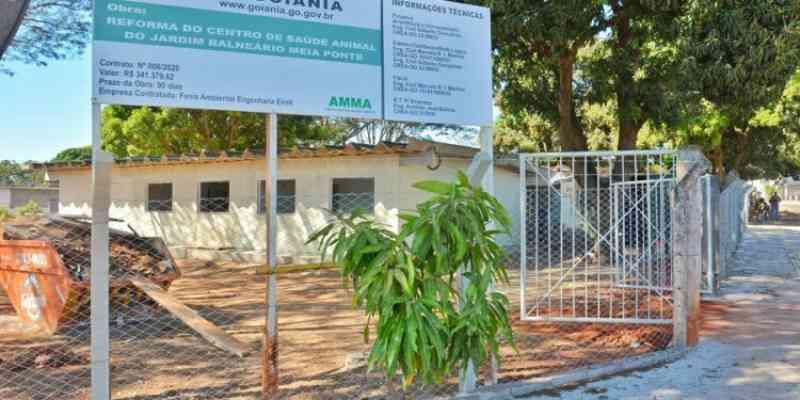 Prefeitura inaugura nova Unidade de Saúde Animal no Balneário Meia Ponte em Goiânia, GO