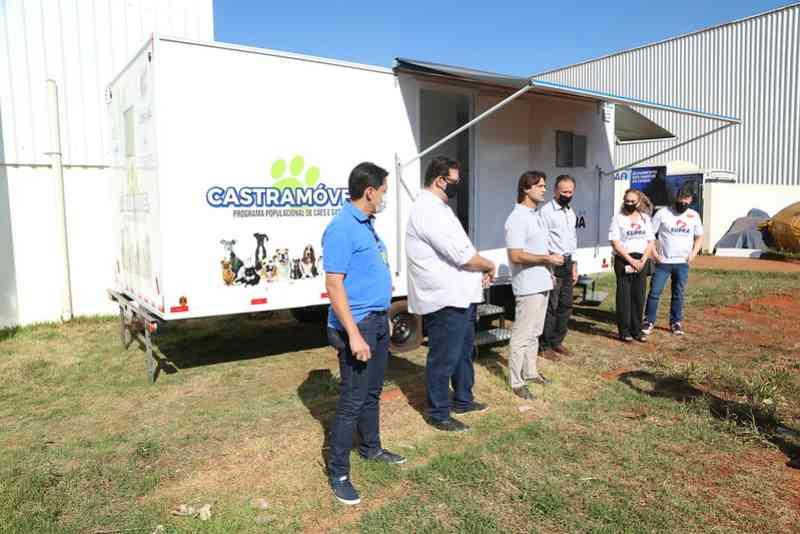 Uberaba (MG) ganha terceira unidade do Castramóvel
