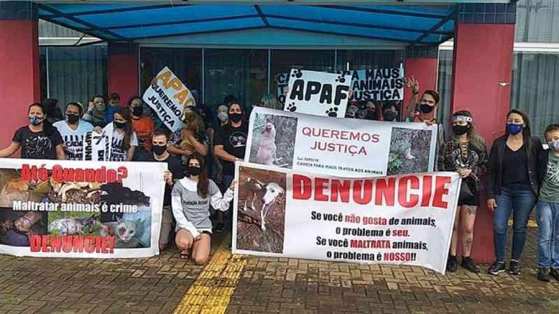 Entidade de defesa dos animais pede punição para jovem que matou cachorro em Candói, PR