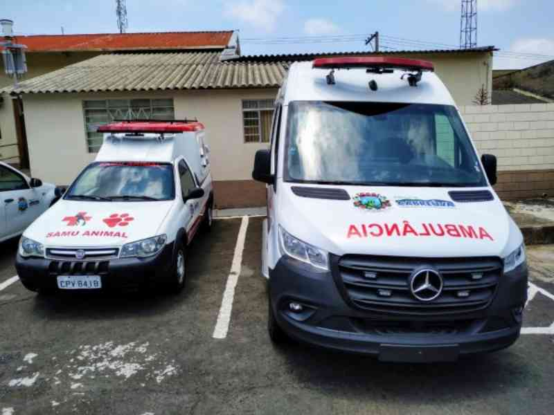 Ambulância e Samu animal são entregues em Cabreúva, SP