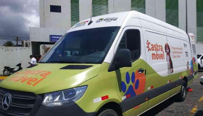 Procedimento de castração de animais será realizado de forma volante em Maceió, AL