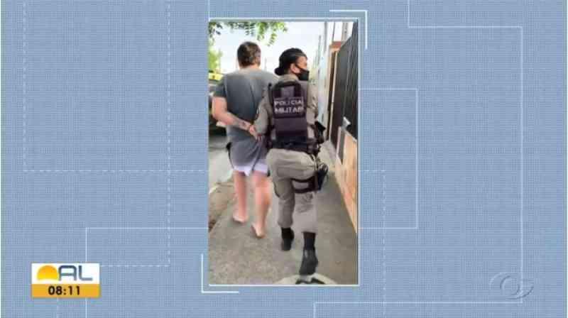 Homem é preso suspeito de maus-tratos contra cachorro em Maceió, AL