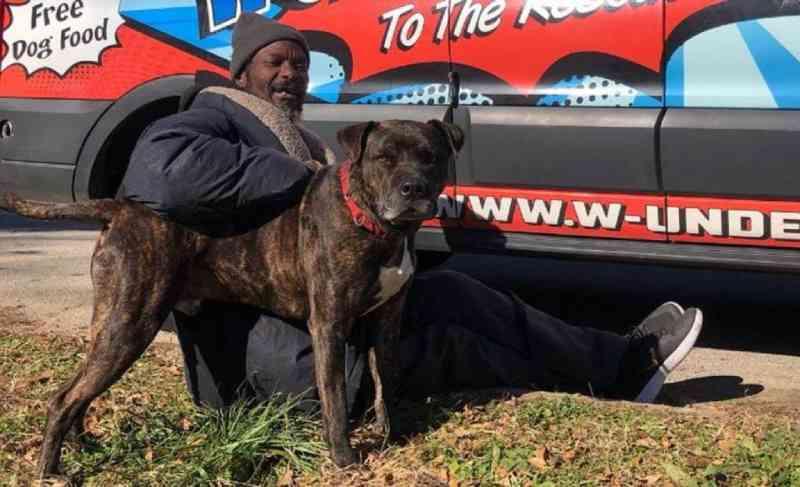 Sem-teto resgata vários animais de edifício em chamas: 'É o meu herói'