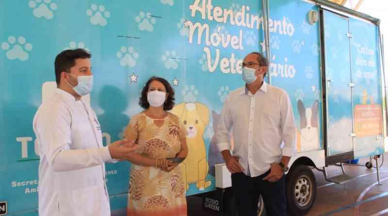Saúde animal: castramóvel atendeu em média 80 animais em Toledo, PR