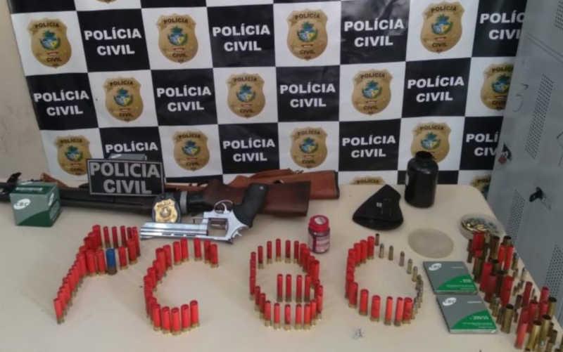 Homem é preso suspeito de matar dois cachorros a tiros, em Mineiros, GO