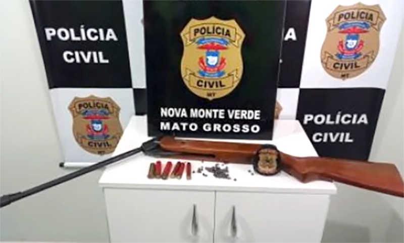 Sitiante acusado de atirar e matar cachorro Nova Monte Verde (MT) paga fiança e é liberado