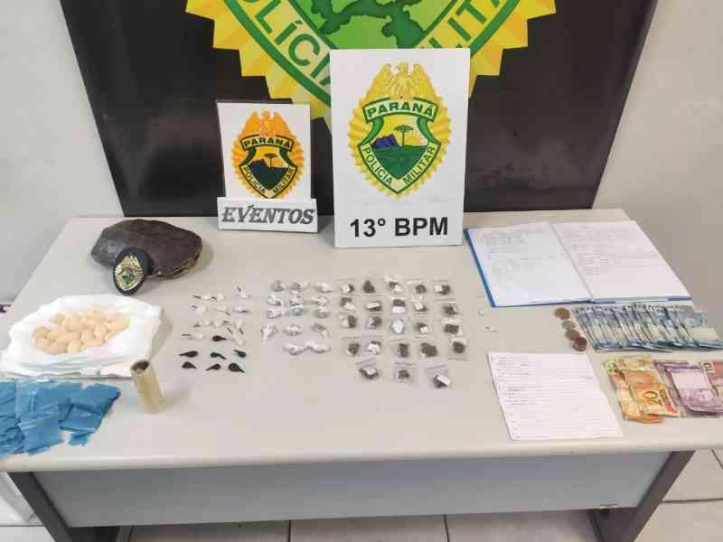 Polícia apreende tartaruga e ovos do animal em operação contra o tráfico de drogas em Curitiba, PR