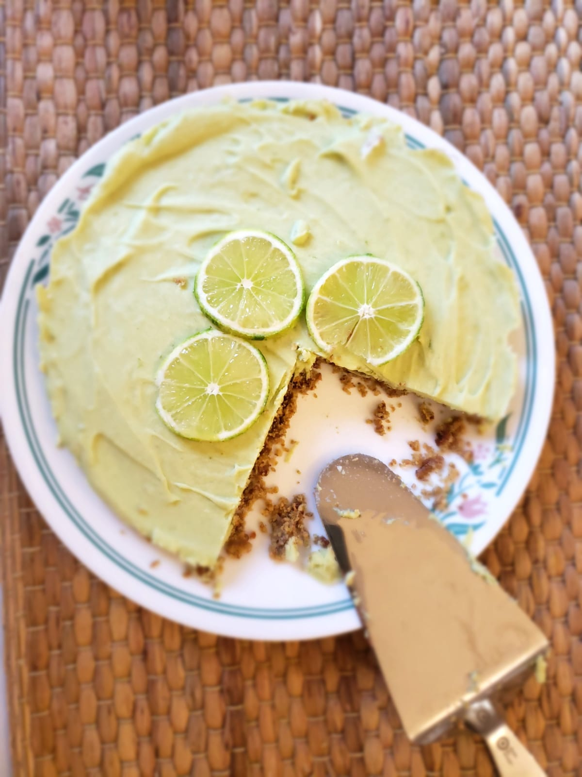 Torta crua de limão
