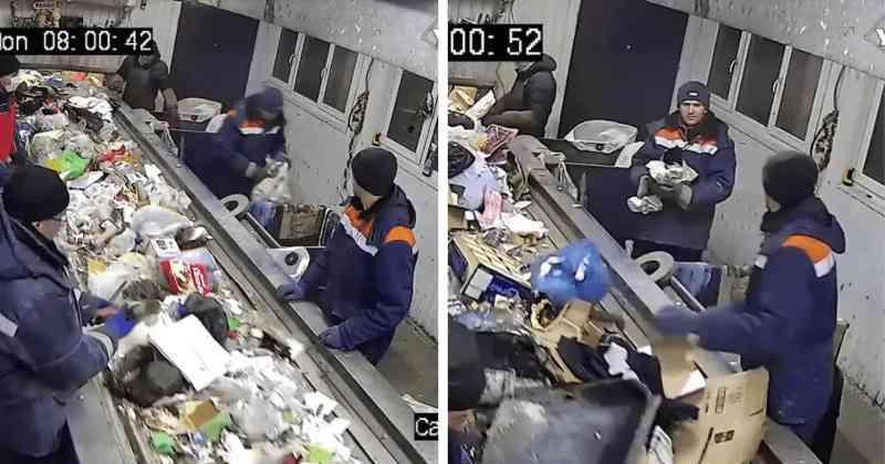 Homem salva gatinho amarrado em saco segundos antes de ser ESMAGADO como lixo