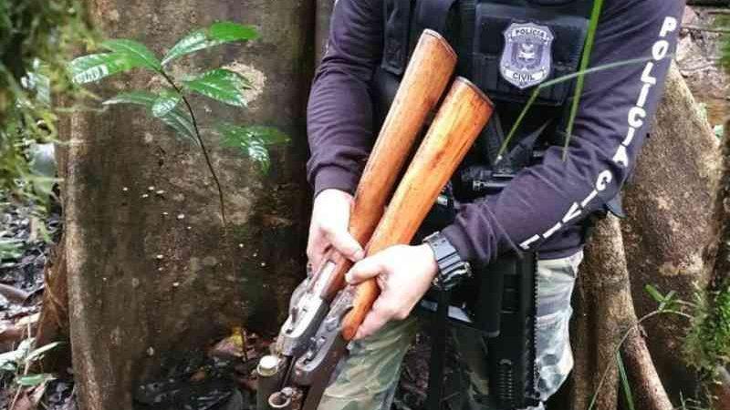 Quatro são presos por caça ilegal em áreas de preservação no interior do Amapá