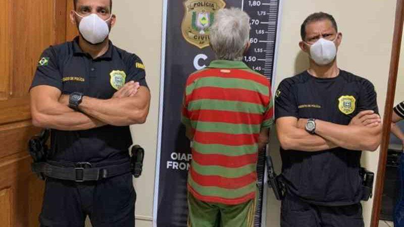 Homem é preso por matar cachorro a pauladas dentro de 'ONG' em Oiapoque, no AP