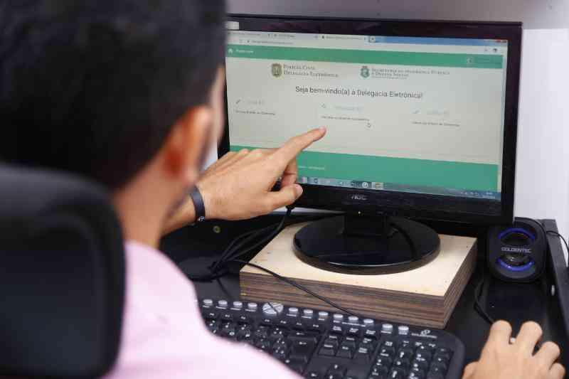 Polícia Civil do Ceará orienta que população registre boletins de ocorrência via Delegacia Eletrônica