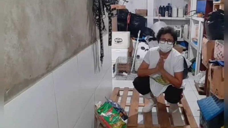 Apipa mostra estoque de rações quase vazio e pede doações em Teresina — Foto: Divulgação Apipa
