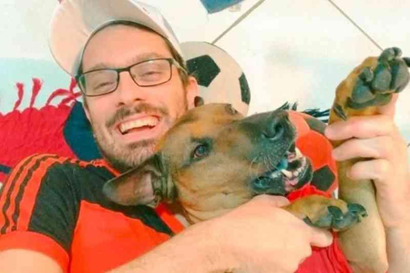 Morre cão de torcedor do Flamengo que rifou ingresso para salvá-lo