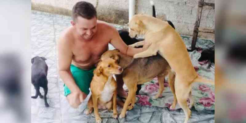 Em Caraguatatuba (SP), cuidador de cães e gatos abandonados pede ajuda
