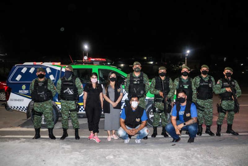 Ação do Batalhão Ambiental foi acompanhado pela deputada Joana Darc   Foto: Divulgação