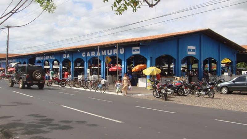 Crime aconteceu em mercado público da cidade de Parnaíba — Foto: Divulgação/Prefeitura de Parnaíba