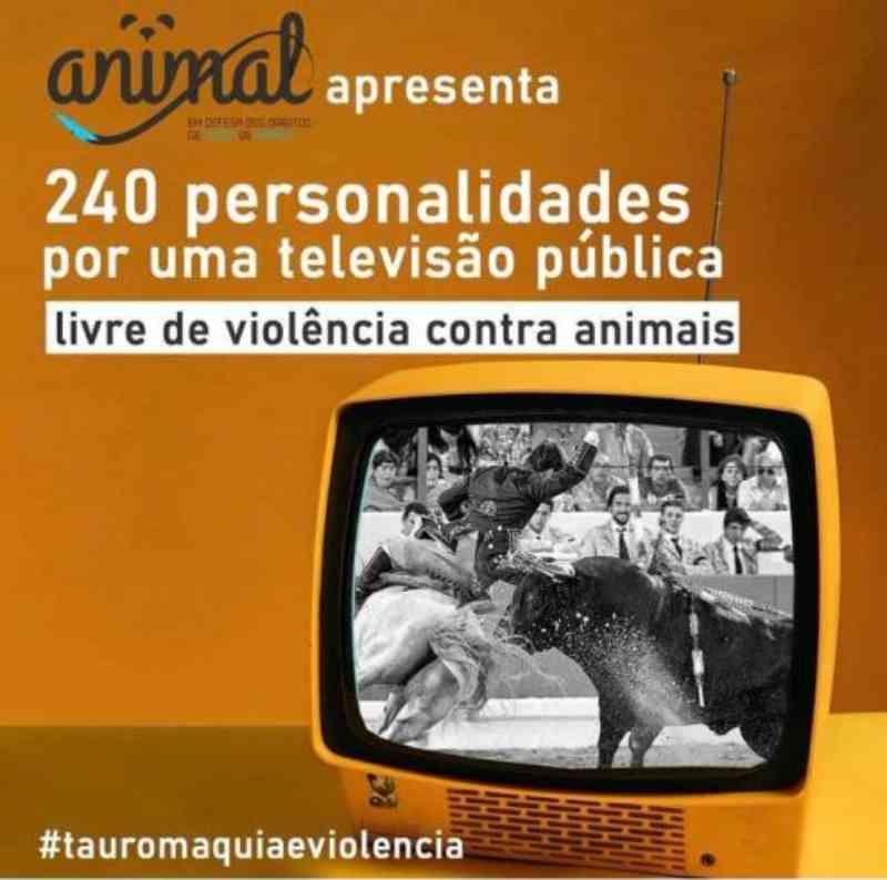 Touradas em Portugal: por uma televisão pública livre de violência contra animais
