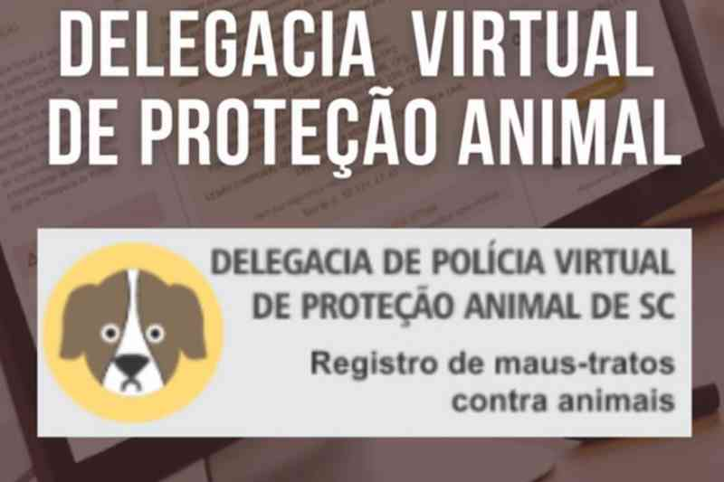 Polícia Civil de Santa Catarina disponibiliza a delegacia virtual de proteção animal