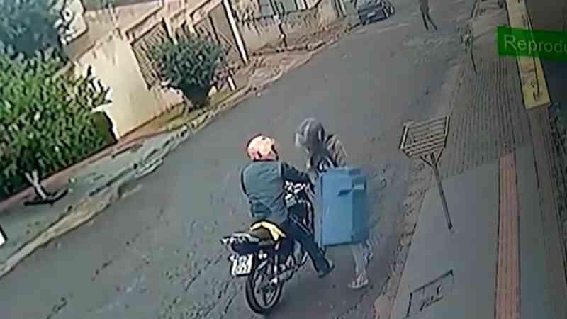 Câmeras de segurança filmam homens  furtando casinha de cachorro comunitário em Londrina, PR