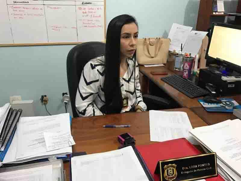 Delegada titular da Dema, Lívia Pontes. Foto: Caio Coutinho/Arquivo G1