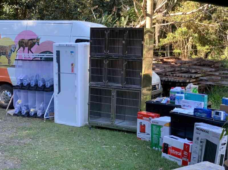 Cetas de Juiz de Fora (MG) recebe cerca de 370 equipamentos adquiridos via TAC do Ministério Público