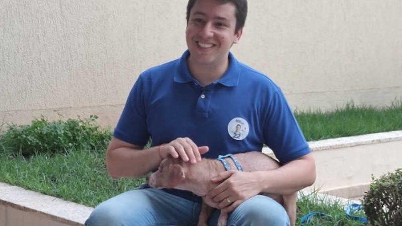 Deputado já tem dois projetos de Lei que buscam o bem-estar e em defesa da causa animal. (Divulgação)