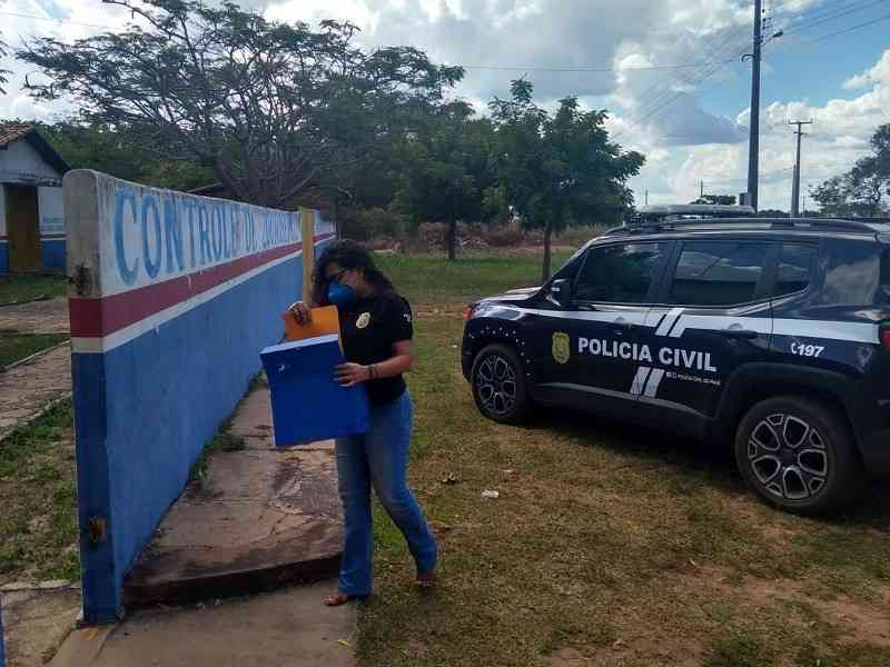 Após denúncias, Polícia Civil realiza mandado de busca e apreensão no centro de zoonoses de Barras, PI