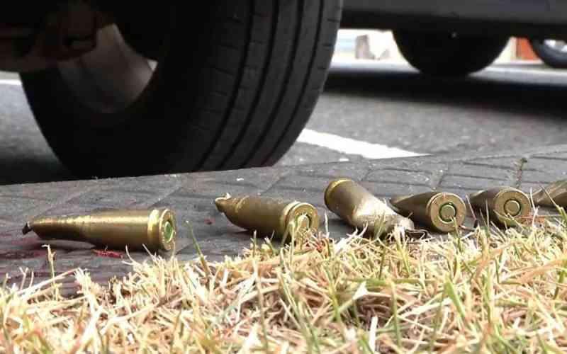 Imagens do local do crime. Fotos Divulgação
