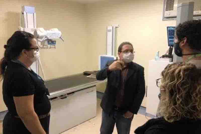 Presidente da Comissão de Saúde Animal da Câmara RJ, o vereador Dr. Marcos Paulo, vistoriou o Instituto Jorge Vaitsman (IJV). Foto: Divulgação