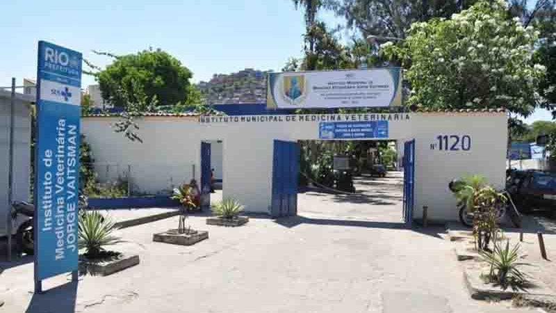 Instituto Municipal de Medicina Veterinária Jorge Vaitsman (IJV). Foto: Divulgação
