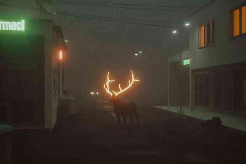 Renas luminosas para evitar acidentes neste lugar selvagem da Terra