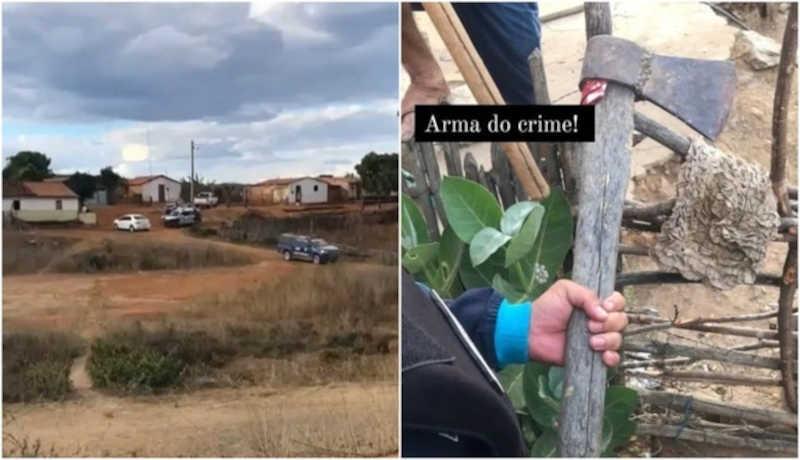 Justiça nega pedido de prisão preventiva de homem filmado matando cachorros com golpes de machado no Ceará