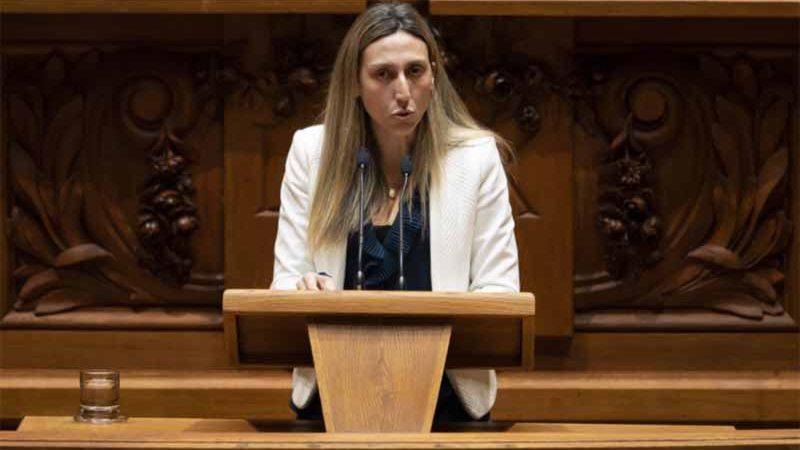 Cristina Rodrigues, deputada não-inscrita. Foto: José Sena Goulão
