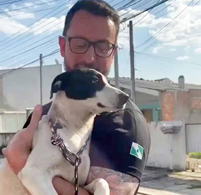 Vídeo flagra maus-tratos a cão e tutora recorre à Bíblia para justificar; assista