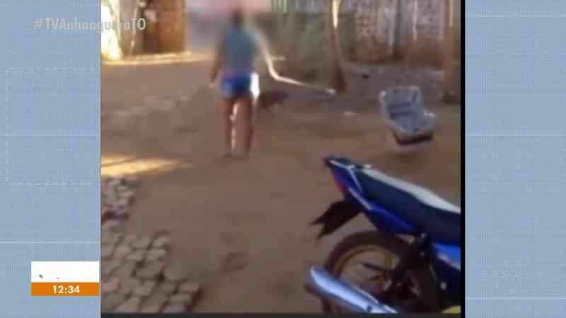 Vídeos viralizaram nas redes sociais — Foto: Reprodução/TV Anhanguera