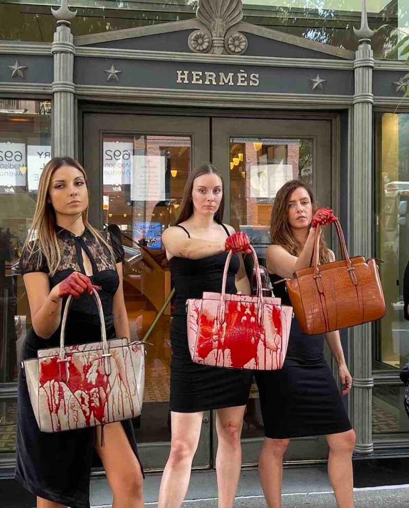 PETA protesta contra Hermès por maus-tratos contra crocodilos