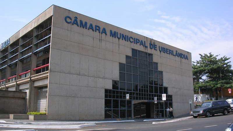 Fachada da Câmara Municipal de Uberlândia — Foto: Câmara de Uberlândia/Divulgação