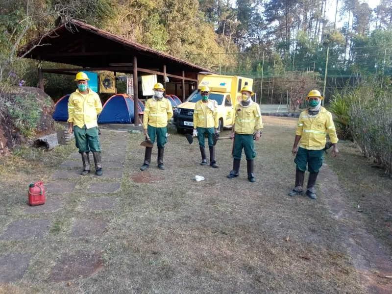 Indígenas da aldeia Xacriabá trabalham para proteger animais silvestres de risco de incêndio em MG