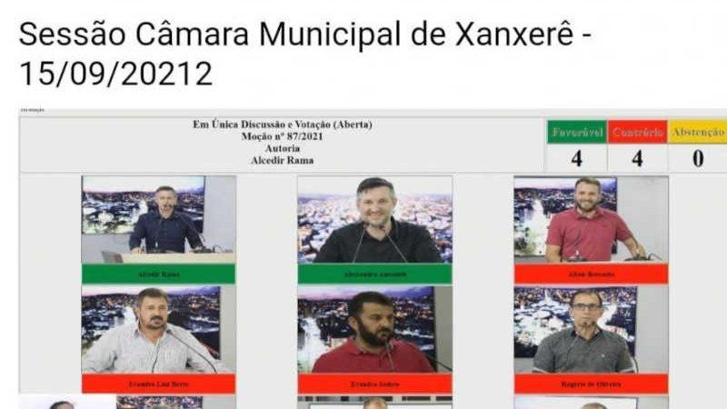 Votação ocorreu durante sessão na Câmara de Vereadores na última quarta-feira (15). Foto: Reprodução/Redes Sociais