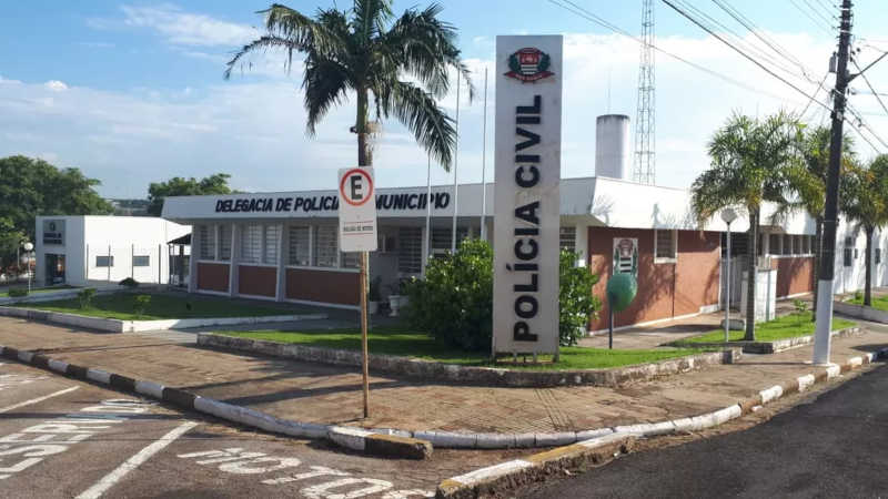 Polícia Civil de Tatuí — Foto: Adolfo Lima/TV TEM