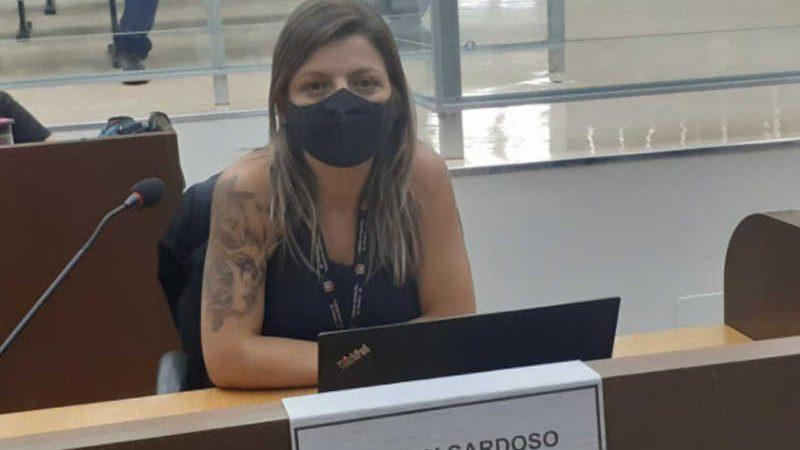 Lindsay Cardoso teve projeto aprovado pelos colegas nesta terça-feira