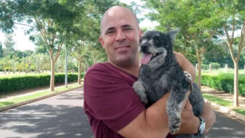 Daniel Augusto Galo sonha em possuir um espaço para acolher os animais em Ribeirão Preto (SP) — Foto: Acervo pessoal