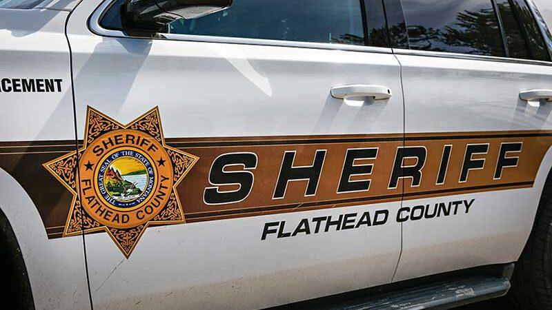Um veículo do gabinete do xerife do Condado de Flathead – Foto do arquivo do jornal Flathead Beacon