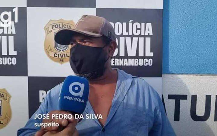Suspeito de maus-tratos a animais e de conservar suposta carne de cavalo se apresenta à polícia, em Caruaru, PE